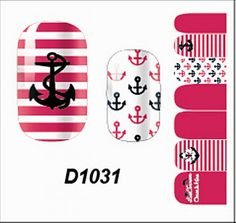 1 Pcs Exellent Multi Mix Manicure Wraps 3D Decals Nail Art Stickers Style Code D1031 -- To view further for this item, visit the image link.