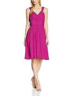 UK 10.5, Violett (Purple), Astrapahl Women's Co8007ap Dress, Black NEW