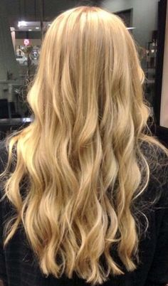 Blonde locks