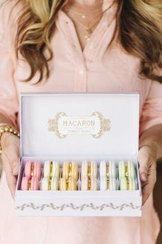 Macaron trinket box! This would make a super cute bridesmaid gift!
