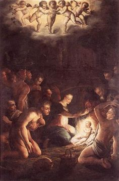 The Nativity - Giorgio Vasari-1546