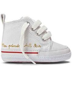 Meu Primeiro All Star Branco | Converse All Star para bebes! O sapato que encantou gerações agora também está disponível para os pequeninos.