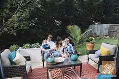 These simple patio decorating ideas will help you make your patio family-friendly and great for entertaining. Click through to The Home Depot Blog.