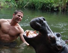 Steve Backshall, (above) best known for the BBC TV programme Deadly 60, is urging people t...