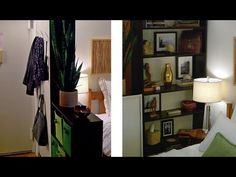 A functional divider: How to create an entryway using Ikea Billy bookcases - Season 1 - Ep 1 Engineer Your Space Ikea Billy Bookcase, Bookcase Wall, Small Space Living, Small Spaces, Creating An Entryway, Open Concept Home, Studio Living, Small Space Organization, Maximize Space