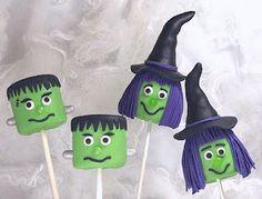 Halloween Marshmallow Pops Tutorial