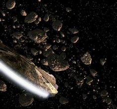 Some Information On Our Asteroid Belt, page 1 Space Fantasy, Fantasy Art, Asteroid Belt, Space Artwork, Millenium Falcon, Love Me Forever, Planets, Star Wars, Stars