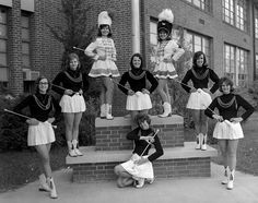 Central Majorettes 1964-65 | Cape Girardeau History and Photos