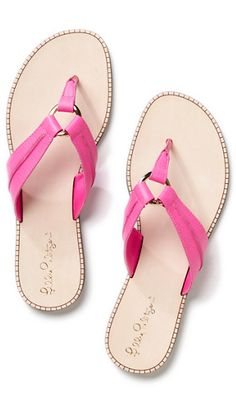 pretty #pink leather sandals http://rstyle.me/n/jnrudr9te