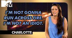 Geordie shore. Geordie shore quote. Charlotte.