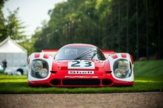 archaictires:  1970 Le Mans Winning Porsche 917K