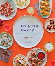A tiny food party with tiny crafts.  Just clever enough to be enticing.