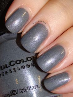 Jessica's Nail Tales: Sinful Colors- Slate. (BN)