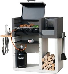 barbecue grill multifonctionnel par Emo Design