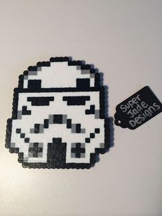 Stormtrooper - Star Wars. via SuperJade Designs. Click on the image to see more!