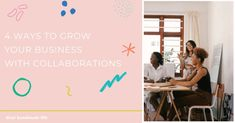 The spirit of community over competition is an important part of my business and brand growth and today on our blog, I'm sharing four ways you can embody that notion of growth through togetherness in your brand.