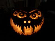 4 Eyes - Lit - Halloween Pumpkin - Jack-o-lantern