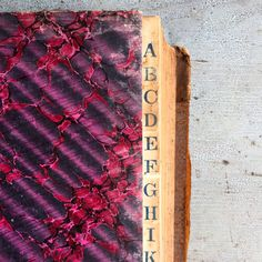 Antique Ledger by Loam106 on Etsy