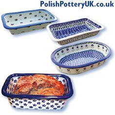 Four Seasons Polish Pottery ~ Polish Pottery Bakers