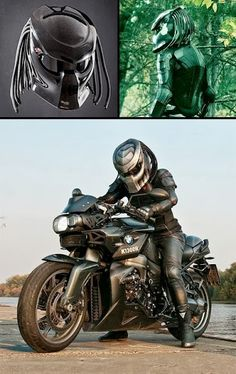 Predator Helmet - now to get a motorcycle!!