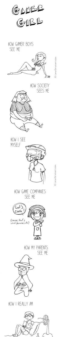 Gamer girl                                                                                                                                                                                 More