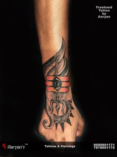 Har Har Mahadev...! Free hand Tattoo by Aaryan Tattooist. Call/Whatsapp for Your Appointment: 9099801171. (Chandkheda: 7878601172)
