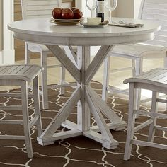 Willow Dining Round Counter Height Table by Progressive Furniture