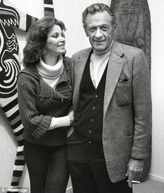 Stefanie Powers & William Holden...Powers, A Hollywood & TV Shiner and Holden, 20+ Years Her Senior, Had A Decades+ Long Love Affair, Never Marrying...The Legendary Actor Taught Stephanie to Love His Cherished Africa and She Tried To Control Holden's Out of Control Drinking Habit..Their Realtionship Ended When Holden Tragically Fell While Drunk..Powers' Was Away Traveling....A True Love Cut Short By A Tragic Ending...