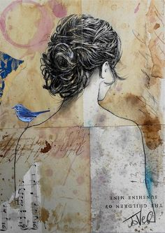 """Awesome """"contemporary abstract art painting"""" information is readily available on our internet site. Read more and you wont be sorry you did. Abstract Portrait, Portrait Art, Abstract Art, Art Journal Inspiration, Art Inspo, Amazing Drawings, Medium Art, Figurative Art, Mixed Media Art"""