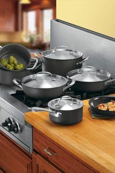 Cuisinart Gourmet Non-Stick Hard Anodized 12-Piece Cookware Set on HauteLook