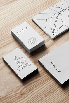 Alma Stockholm: Member's Club For Creatives by Tham & Videgård. – Corrin M Olson Alma Stockholm: Member's Club For Creatives by Tham & Videgård. Alma: Member's Club For Creatives in Stockholm by Tham & Videgård Graphic Design Branding, Corporate Design, Business Card Design, Logo Branding, Corporate Identity, Brand Logo Design, Minimal Logo Design, Self Branding, Visual Identity