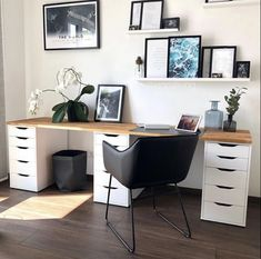 Home Desk, Home Office Space, Home Office Design, Home Office Decor, House Design, Study Room Decor, Cute Room Decor, Room Ideas Bedroom, Home Decor Bedroom