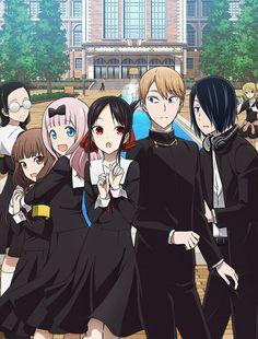 Browse pictures from the anime Kaguya-sama wa Kokurasetai?: Tensai-tachi no Renai Zunousen (Kaguya-sama: Love is War Season on MyAnimeList, the internet's largest anime database. Second season of Kaguya-sama wa Kokurasetai: Tensai-tachi no Renai Zunousen. Anime Titles, Anime Characters, Digimon Adventure Tri., Sakura Wars, Tsurezure Children, M Anime, Gekkan Shoujo, Familia Anime, Love Is