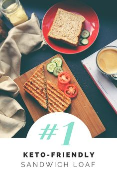 The Greatest Keto Sandwich Loaf | KetoDetective