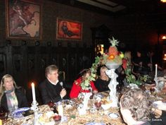 Haunted Mansion Dinner Host Tim O'Day