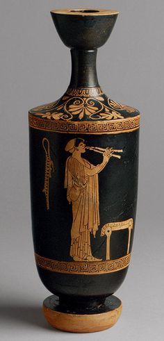 Attributed to the Brygos Painter: Lekythos (24.97.28) | Heilbrunn Timeline of…