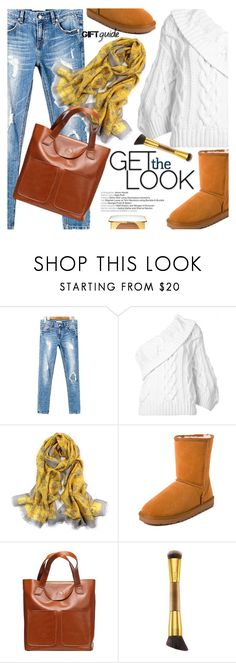 """""""Cozy Chic"""" by metisu-fashion ❤ liked on Polyvore featuring Rosie Assoulin, tarte, Tom Ford, besties, polyvoreeditorial and polyvoreset"""