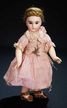 Sonneberg Bisque Closed Mouth Child by Mystery Maker, Original Costume 800/1000 Auctions Online | Proxibid
