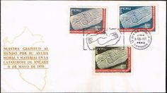 1159 PERU FDC COVER 1971 ARCHAEOLOGY