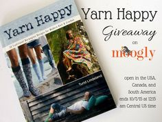 """Yarn Happy is a new book by Turid Lindeland – featuring """"30 Traditional Norwegian Designs for Modern Knit & Crochet""""! If you love modern knitting, or if you love Norwegian design, this book is a must have for your yarny bookshelf! Disclaimer: This post includes affiliate links. As a crocheter and knitter, married to a [...]"""