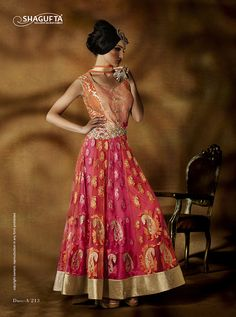 Buy DesignerPink Orange Net SuitonlineZabme. Exhibit a classy and dainty look with this exclusive suit that we have specially picked for you. Mesmeric color and quality fabric makes this suit well worthy. Kameez Color Pink Bottom Color Orange