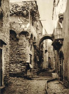 Greek island of Chios, east Aegean sea, Greece Chios Greece, Athens Greece, Greece Architecture, Ancient Architecture, History Of Photography, Greece Photography, Greek History, Cityscape Art, Environment Concept Art