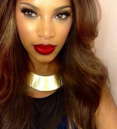 PERFECT MAKE UP #AFRICAN AMERICAN WOMEN.......CHECK OUT MORE ON DAILY BLACK BEAUTY EXCLUSIVES ON FACEBOOK!!! 1