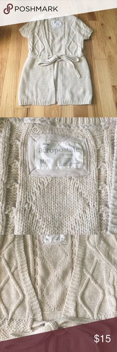 Aeropostale Sweater Cardigan Excellent used condition. Check out the rest of my closet and bundle for additional savings! 😊 Aeropostale Tops Blouses