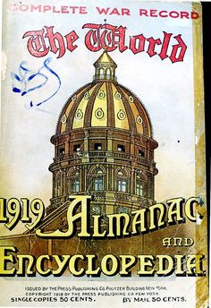 The World Almanac and Encyclopedia 1919