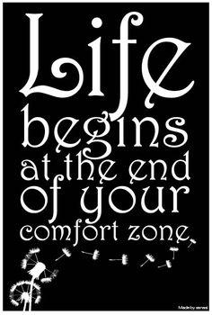 Be brave...