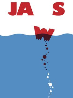 JAWS Poster. by Love Of Carnage!, via Flickr