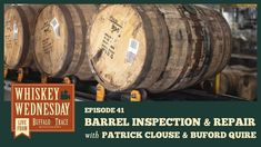 Join us in the Branding Shed as we take a close look at the important barrel inspection and repair process. Whiskey Wednesday, Buffalo Trace, Distillery, Special Events, Barrel, Join, Branding, Brand Management, Barrel Roll