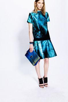 Proenza Schouler Pre-Fall 2013 Fashion Show - Irina Nikolaeva
