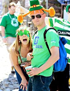 Party in Savannah for St. Patrick's Day!
